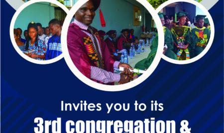 3rd Congregation & 4th Matriculation